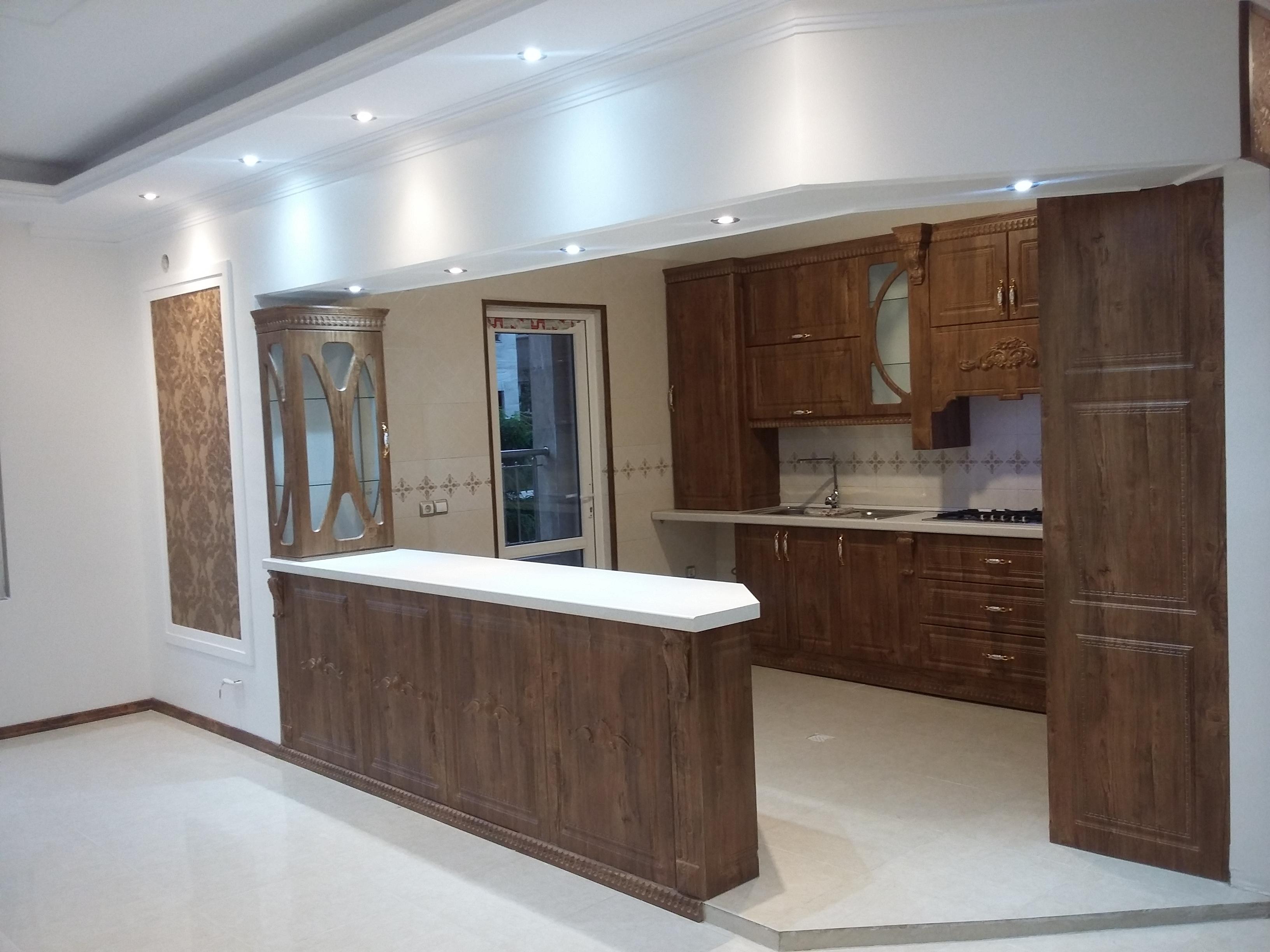 آپارتمان ۱۲۵ متری جهت فروش در شهرک راه آهن فاز۲